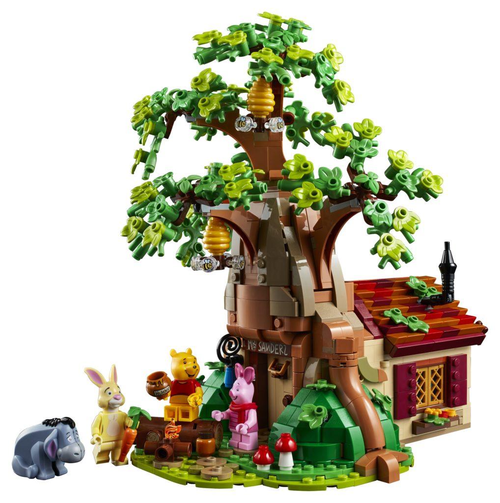 LEGO 21326 Winnie the Pooh Set Photo