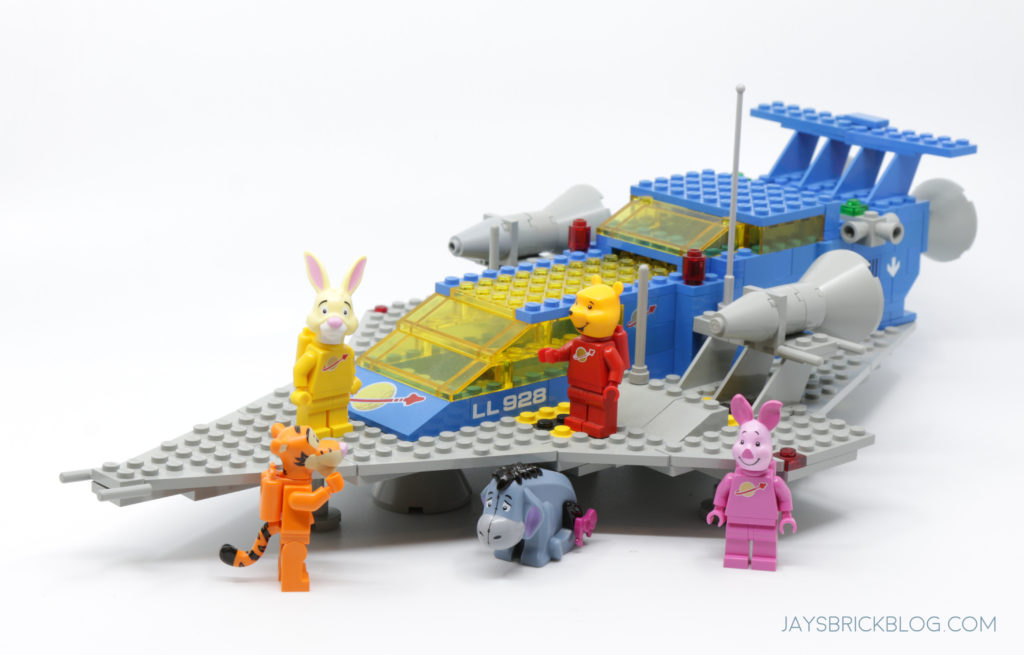 LEGO 21326 Winnie the Pooh Winnie the Pooh Meets Classic Space