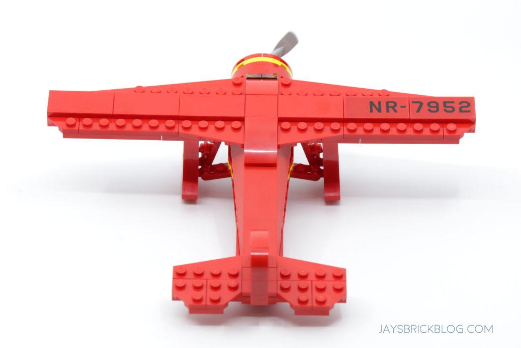 LEGO 40450 Amelia Earhart Tribute Back View