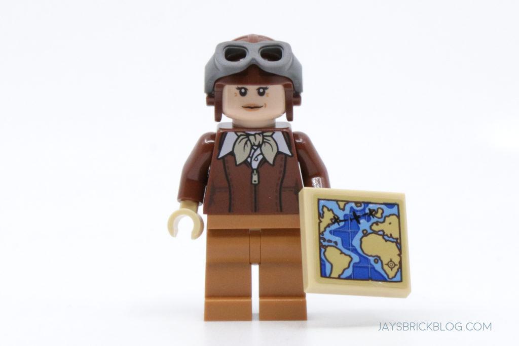 LEGO Amelia Earhart Minifigure
