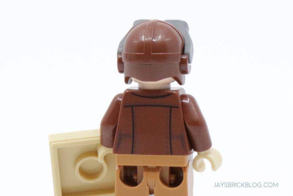 LEGO Amelia Earhart Minifigure Back