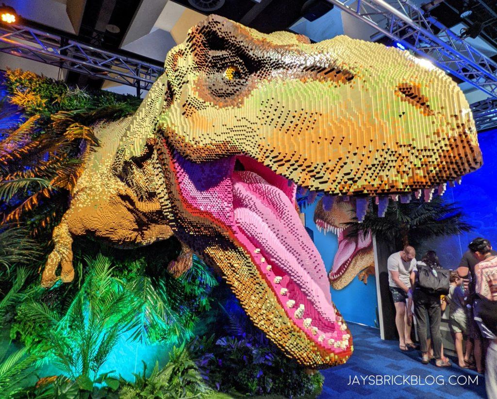 Brickman Jurassic Park Melbourne 2021 33
