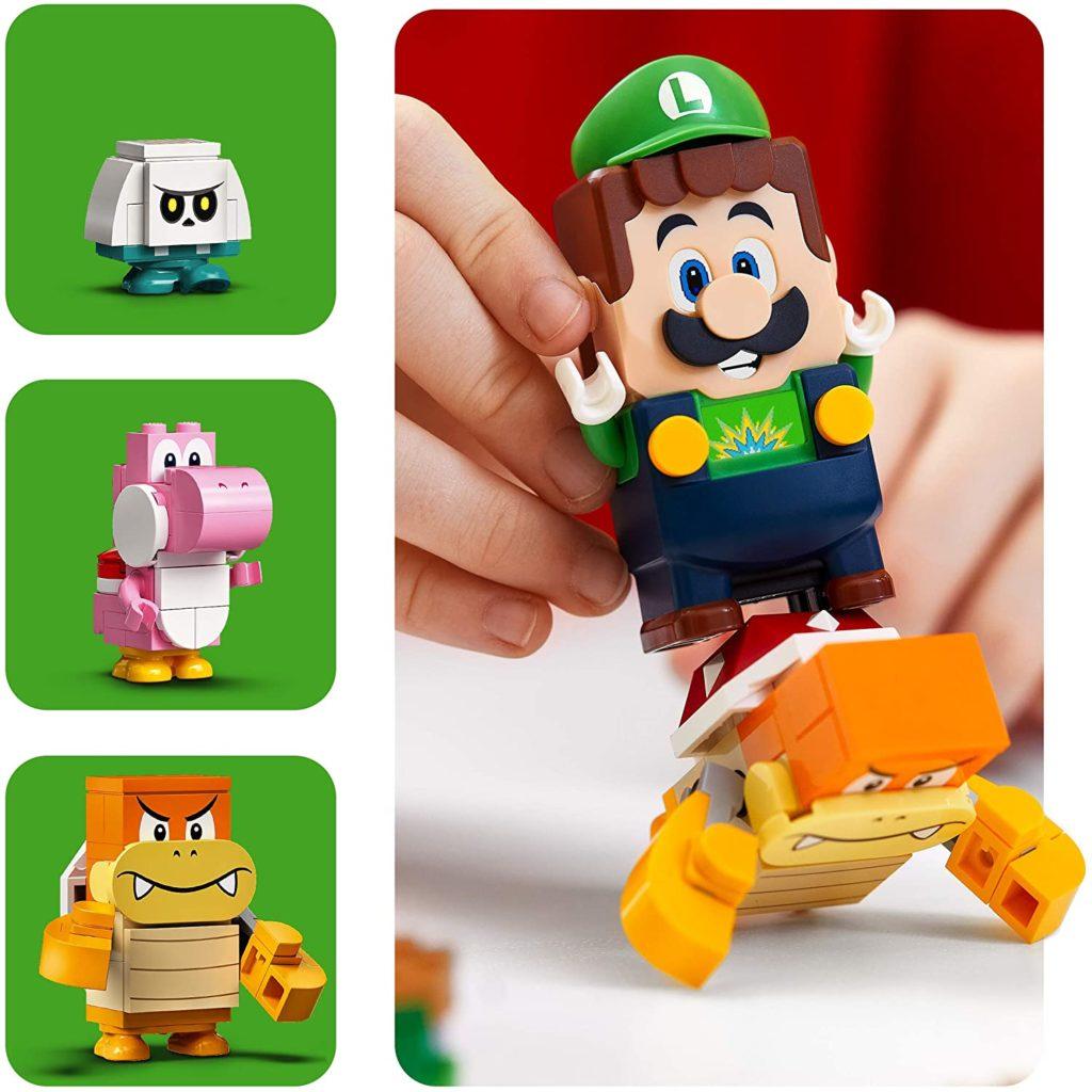 LEGO 71387 Adventures with Luigi Luigi Figure