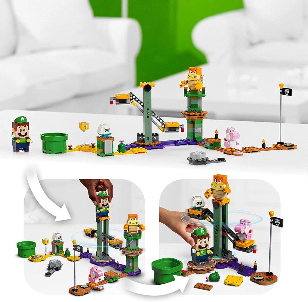 LEGO 71387 Adventures with Luigi Setup