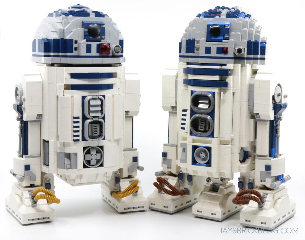 LEGO 75308 UCS R2 D2 Comparison