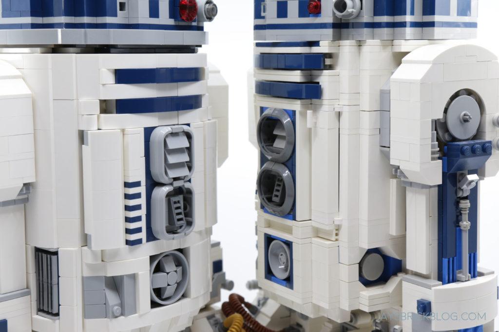 LEGO 75308 UCS R2 D2 Comparison Body