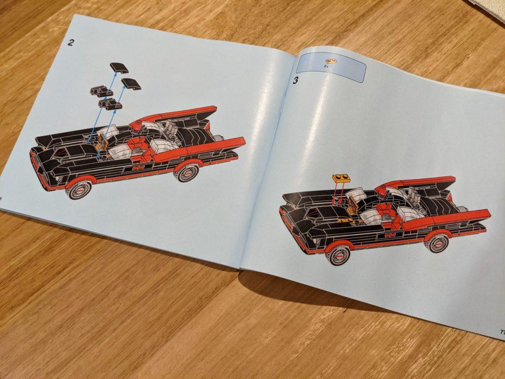 LEGO 76188 Classic TV Series Batmobile Alternate Build