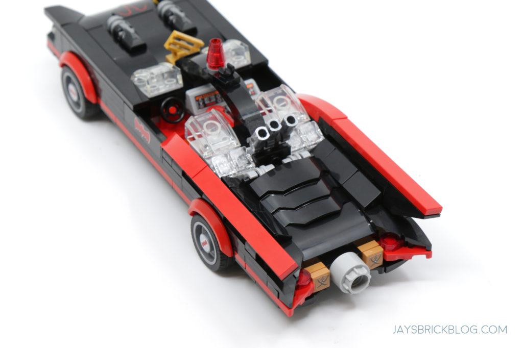 LEGO 76188 Classic TV Series Batmobile Back View