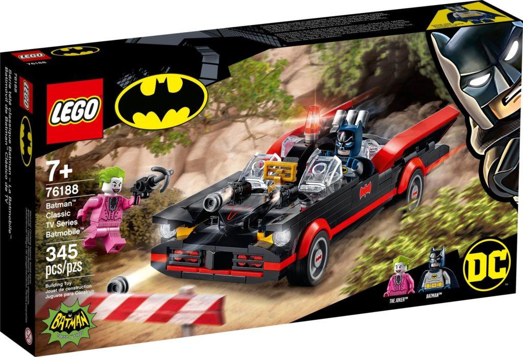 LEGO 76188 Classic TV Series Batmobile Box