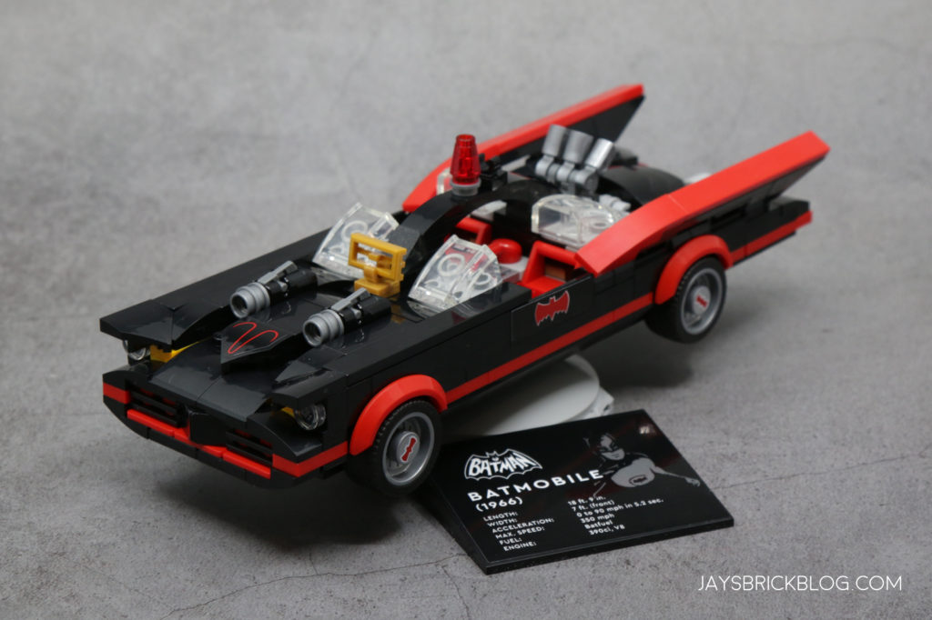 LEGO 76188 Classic TV Series Batmobile Car and Display Stand