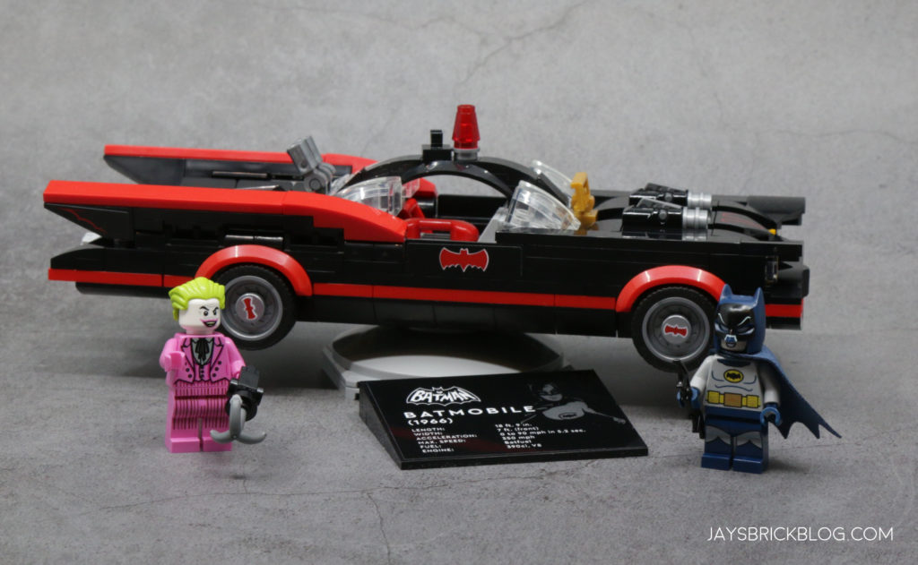 LEGO 76188 Classic TV Series Batmobile Complete Set
