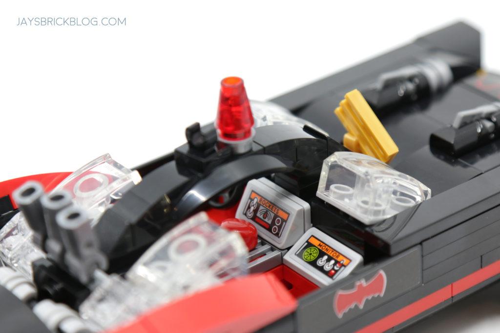 LEGO 76188 Classic TV Series Batmobile Control Panels