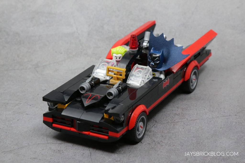 LEGO 76188 Classic TV Series Batmobile Joker and Batman Riding
