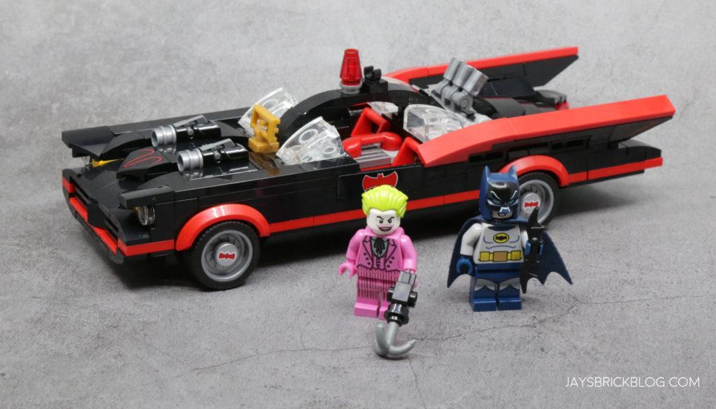 LEGO 76188 Classic TV Series Batmobile Minifigs