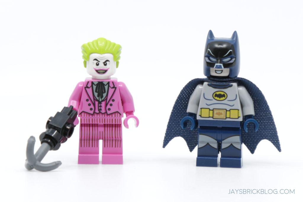 LEGO 76188 Classic TV Series Batmobile Minifigures