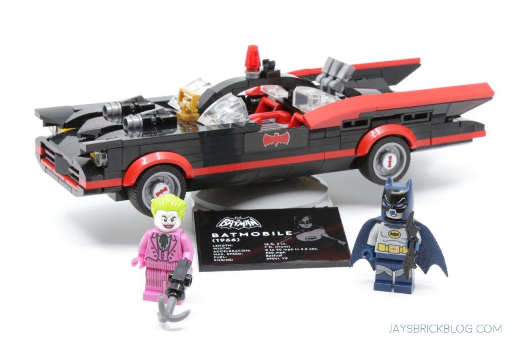 LEGO 76188 Classic TV Series Batmobile Minifigures 2