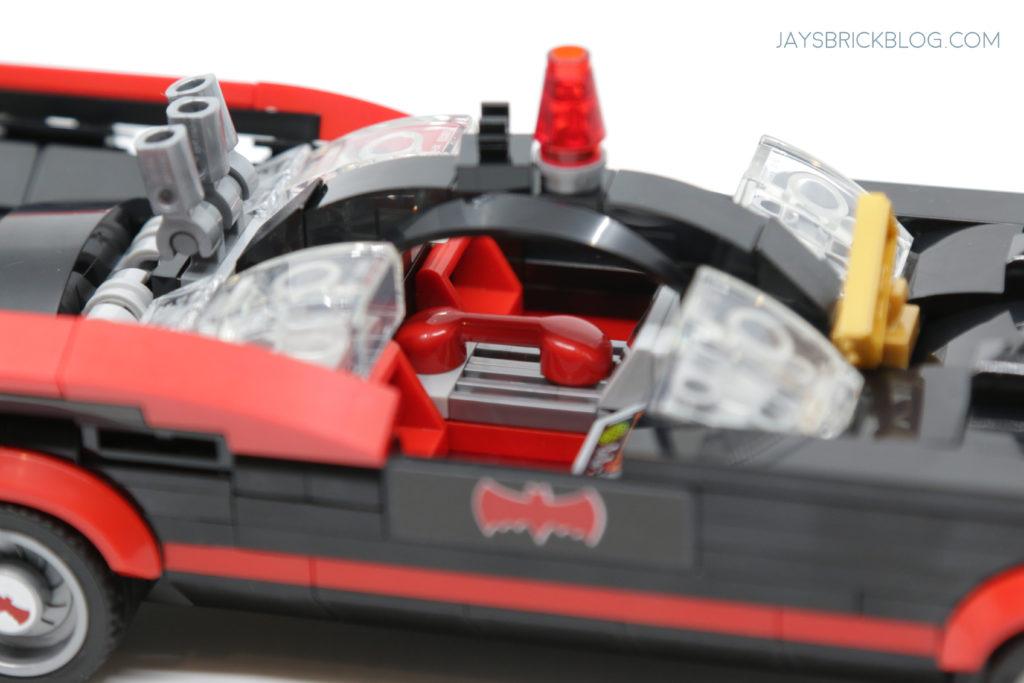 LEGO 76188 Classic TV Series Batmobile Red Telephone
