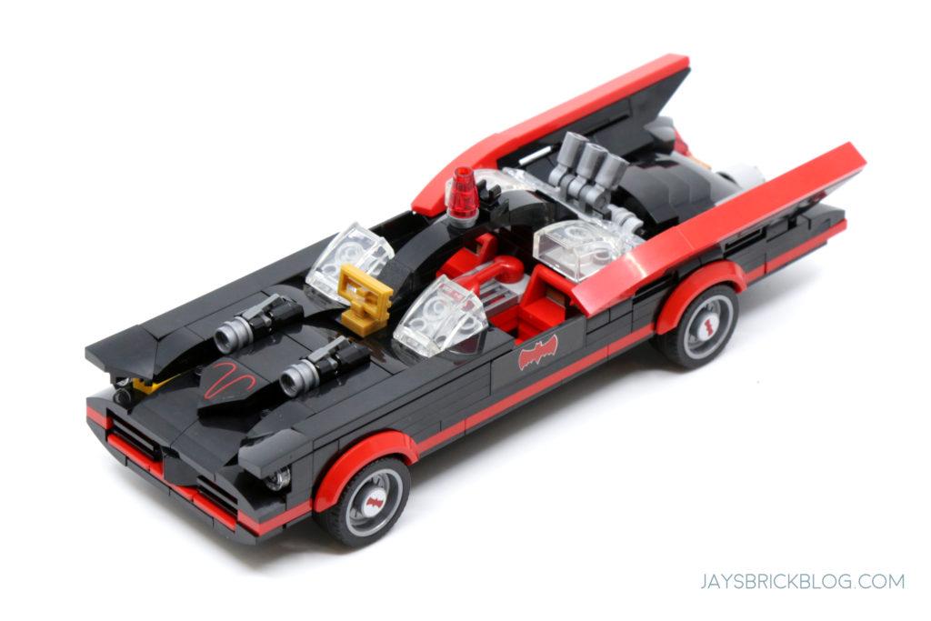 LEGO 76188 Classic TV Series Batmobile Top View