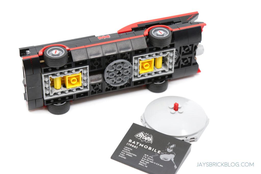LEGO 76188 Classic TV Series Batmobile Underside Car