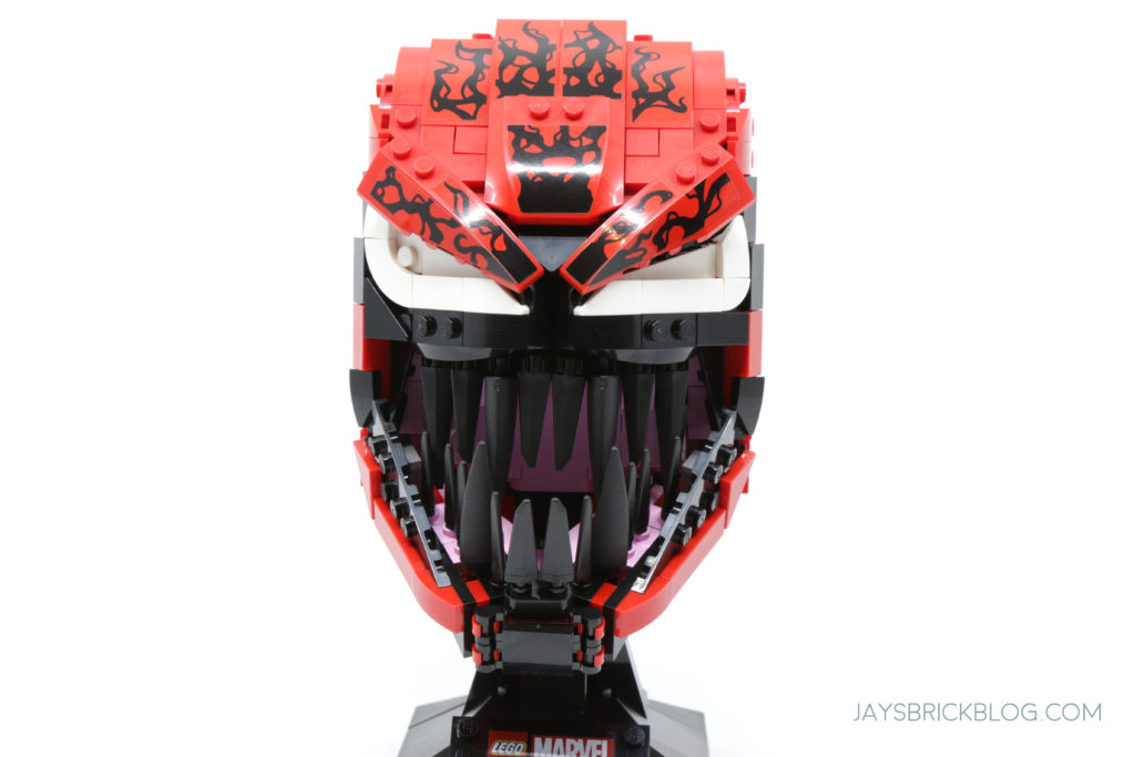 LEGO 76199 Carnage Face Front