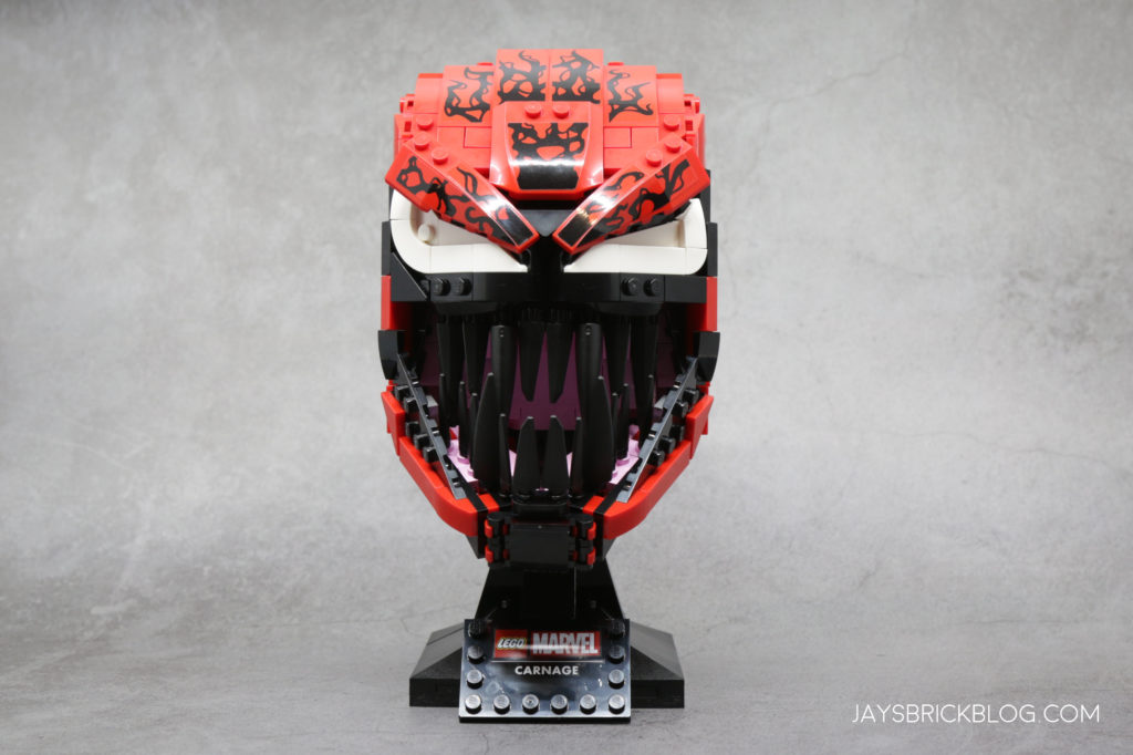 LEGO 76199 Carnage Face Front 2