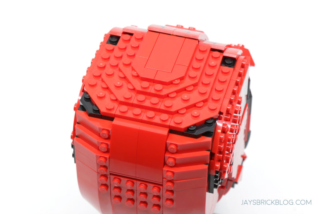LEGO 76199 Carnage Head Top View