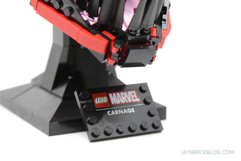 LEGO 76199 Carnage Plaque