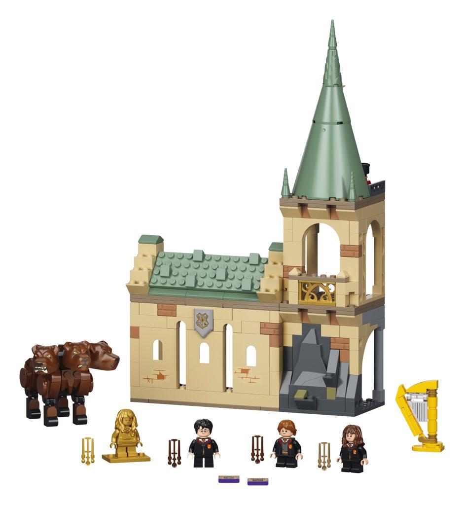 LEGO 76387 Hogwarts Fluffy Encounter Set