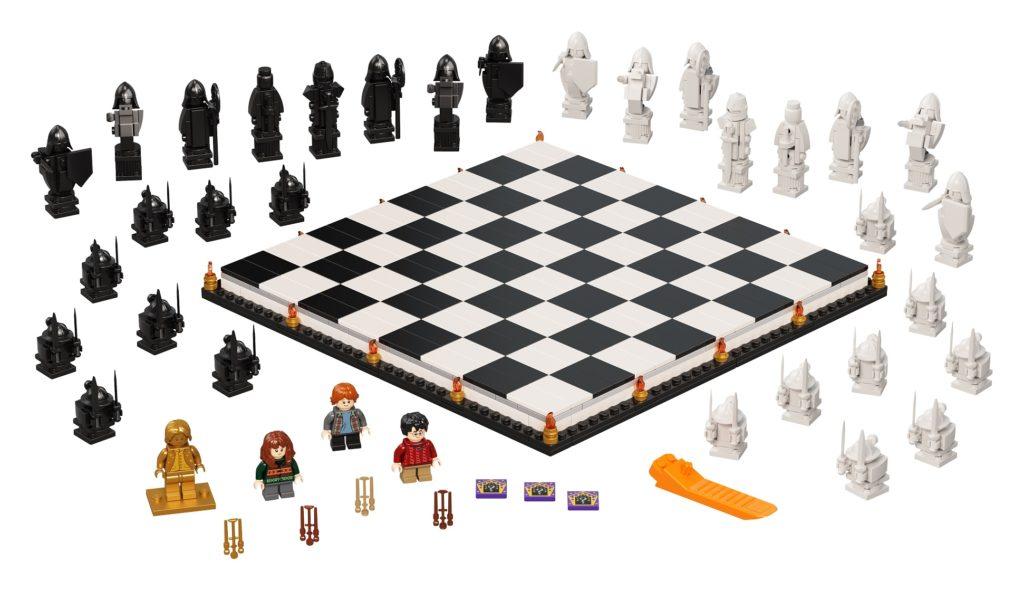 LEGO 76392 Hogwarts Wizards Chess Set