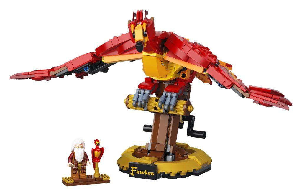 LEGO 76394 Fawkes Dumbledores Phoenix Set