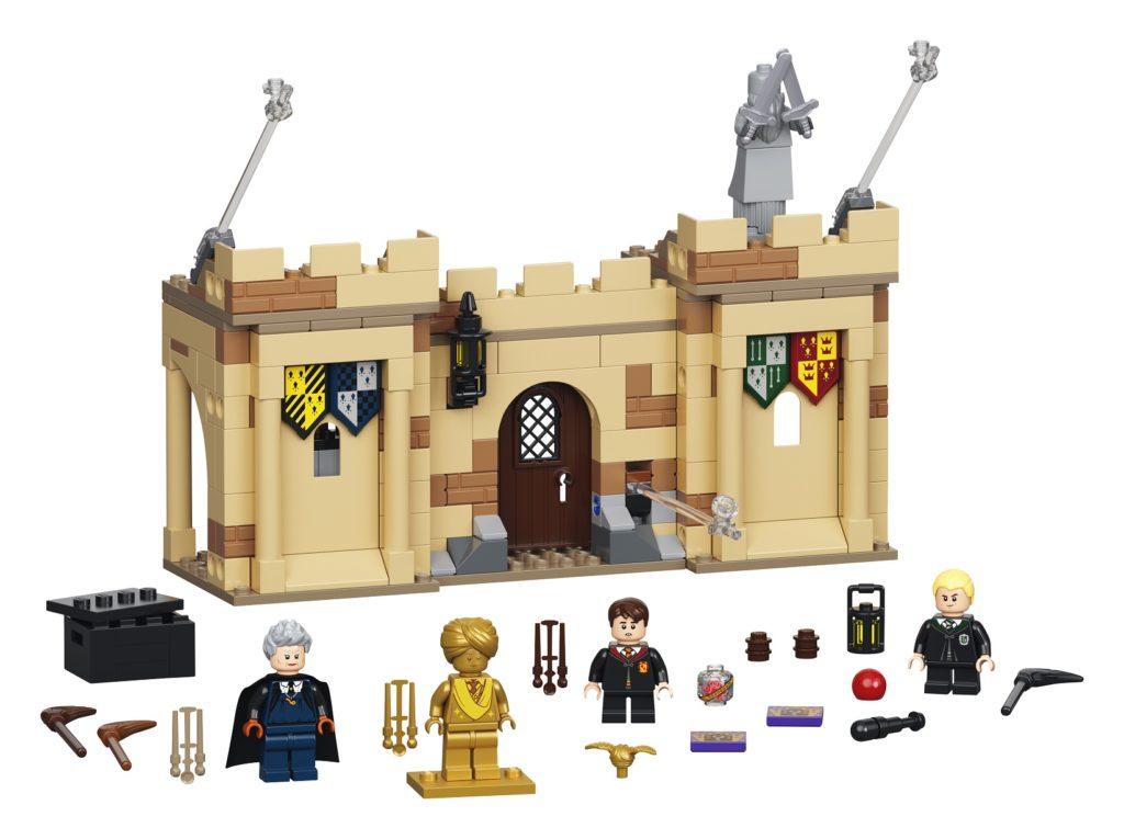 LEGO 76395 Hogwarts First Flying Lesson Set