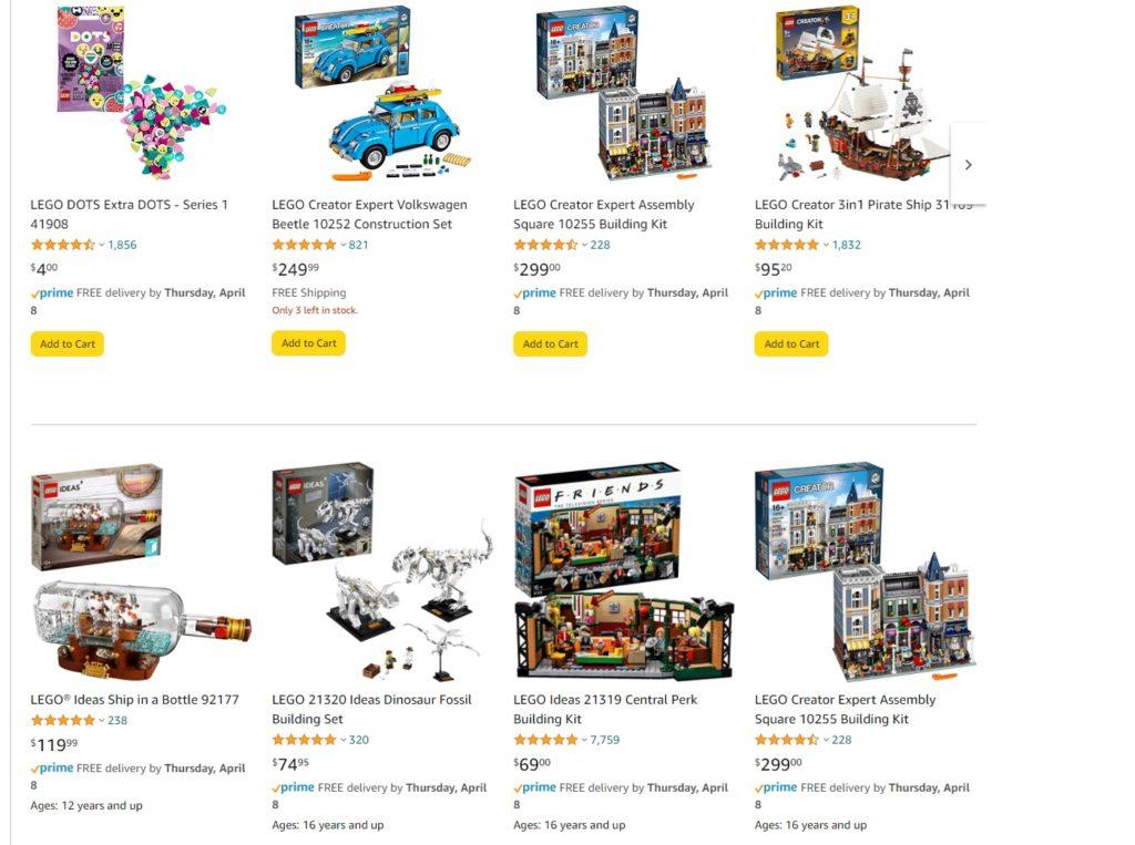 LEGO Amazon Easter Sale April 2021