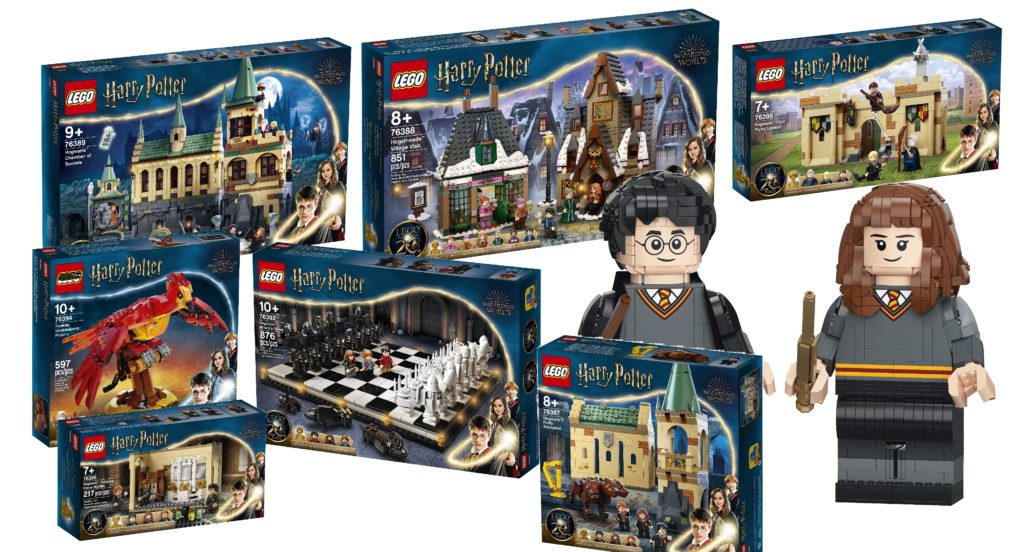 LEGO Harry Potter Summer 2021 Sets Feature Photo