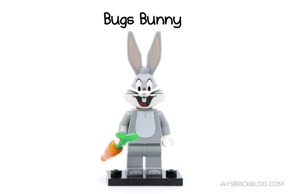 LEGO Looney Tunes Minifigures Bugs Bunny Minifig