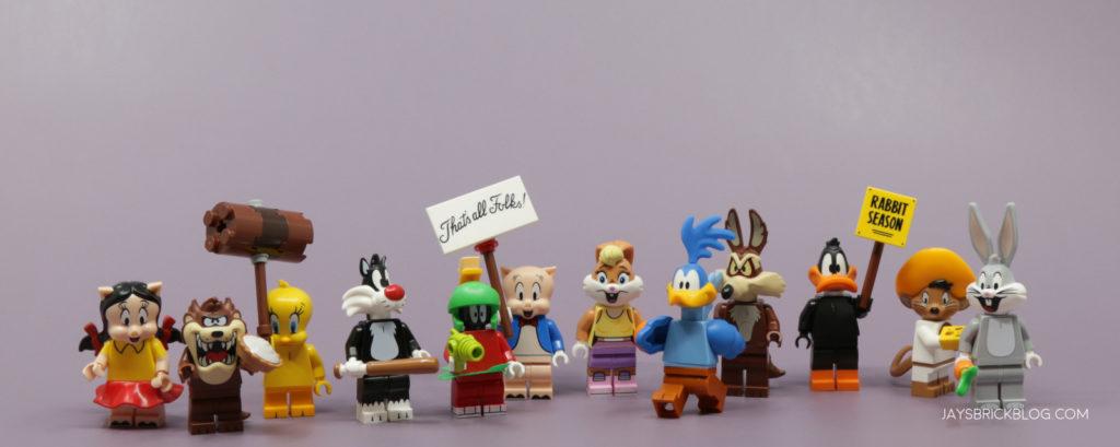 LEGO Looney Tunes Minifigures Complete Set