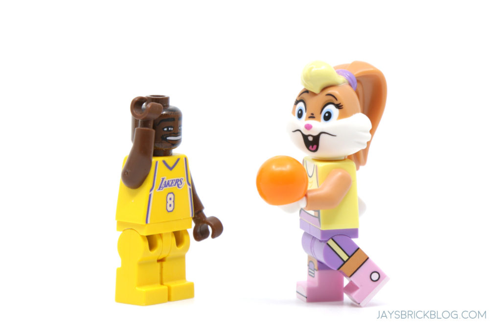 LEGO Looney Tunes Minifigures Lola Bunny and Kobe Bryant