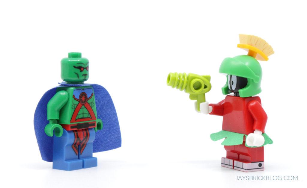 LEGO Looney Tunes Minifigures Marvin the Martian Manhunter