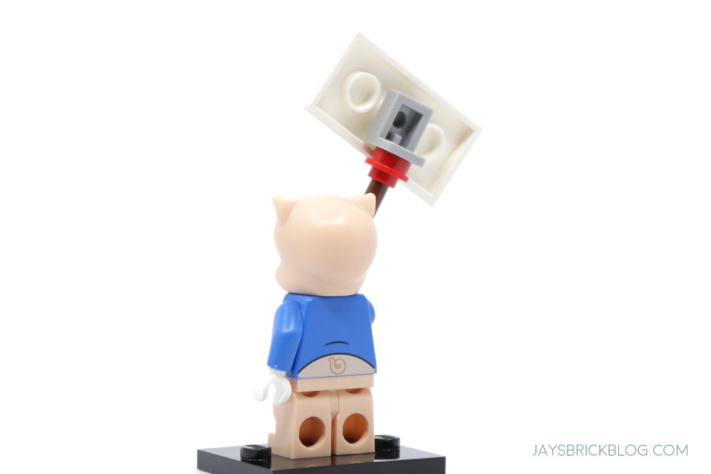LEGO Looney Tunes Minifigures Porky Pig Back
