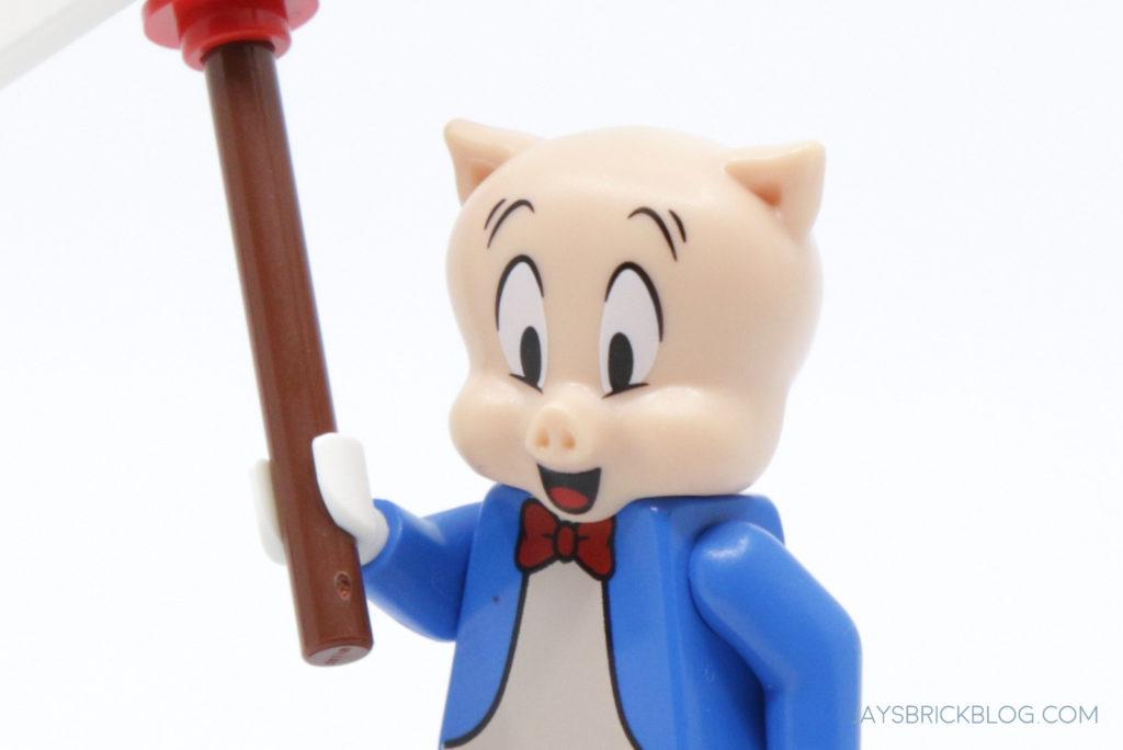 LEGO Looney Tunes Minifigures Porky Pig Face