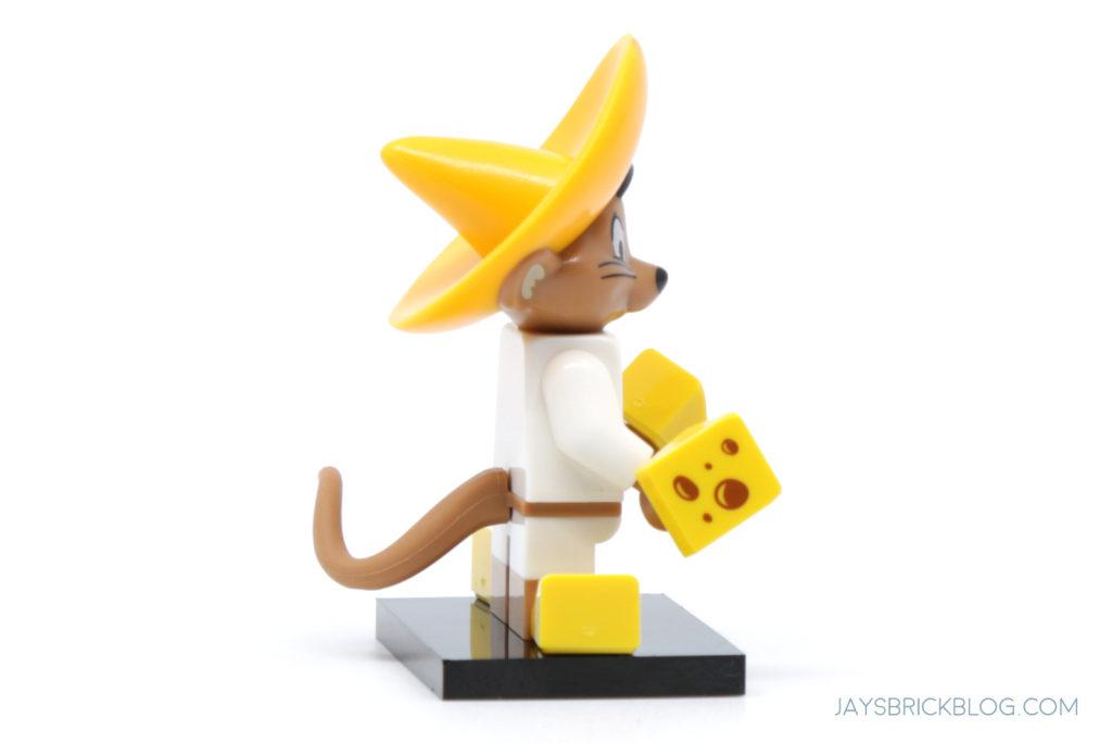 LEGO Looney Tunes Minifigures Speedy Gonzales Side