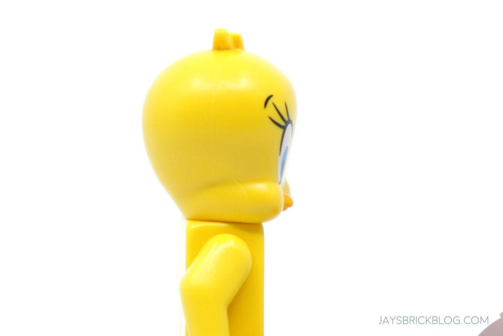 LEGO Looney Tunes Minifigures Tweety Face