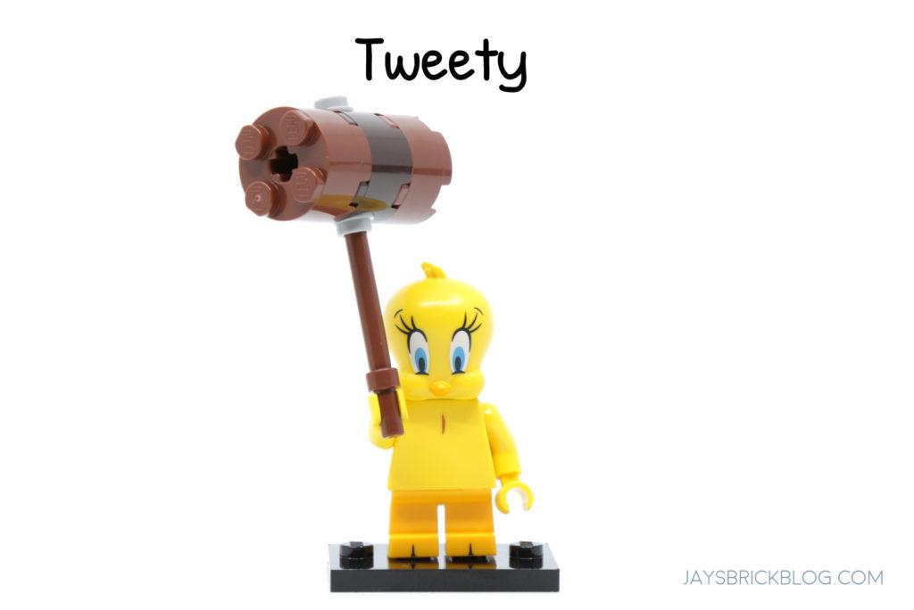 LEGO Looney Tunes Minifigures Tweety Minifig