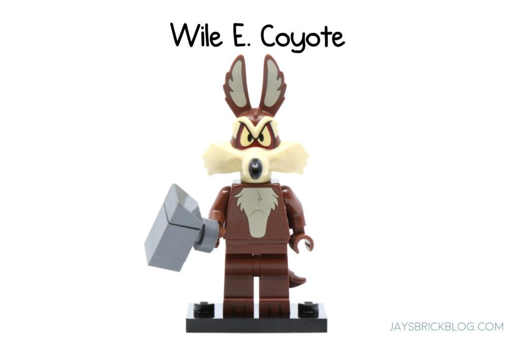 LEGO Looney Tunes Minifigures Wile E Coyote