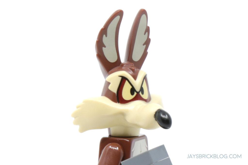 LEGO Looney Tunes Minifigures Wile E Coyote Head