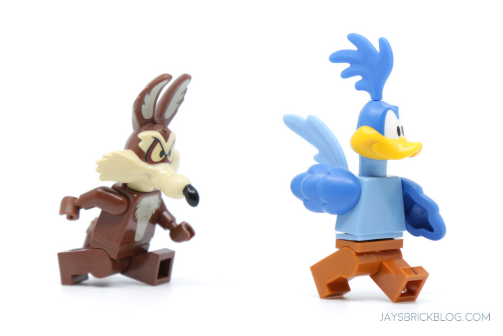 LEGO Looney Tunes Minifigures Wile E Coyote Road Runner