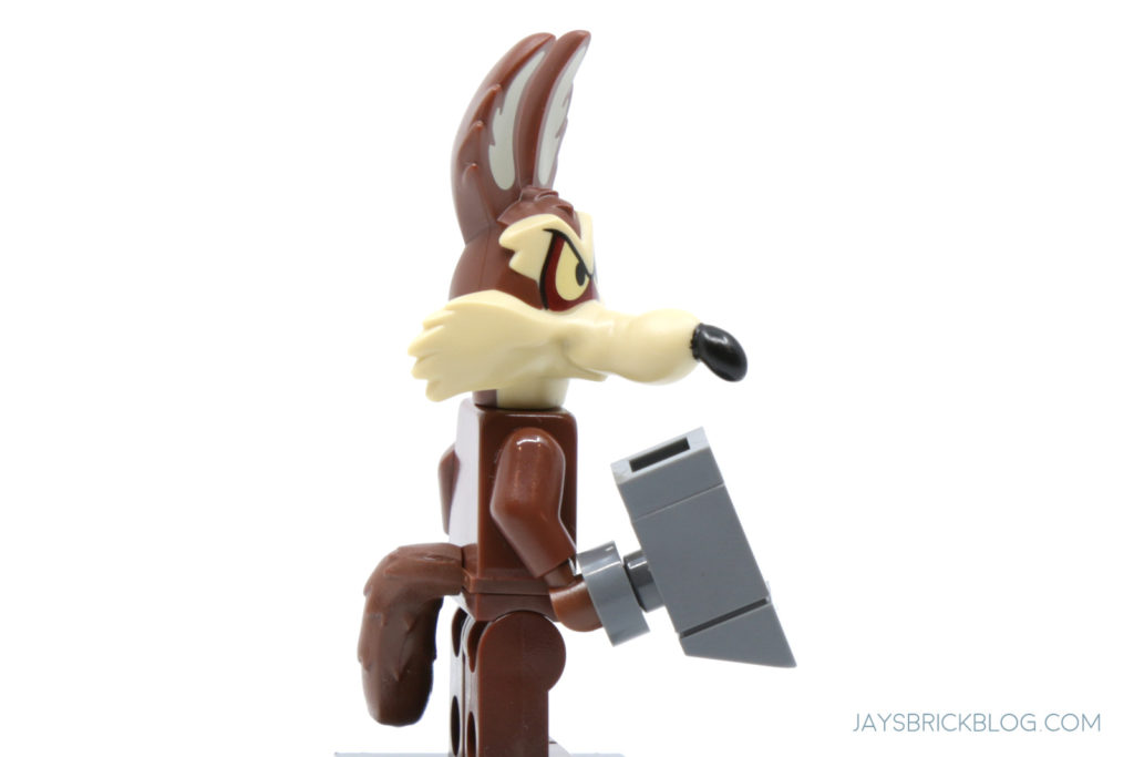 LEGO Looney Tunes Minifigures Wile E Coyote Side