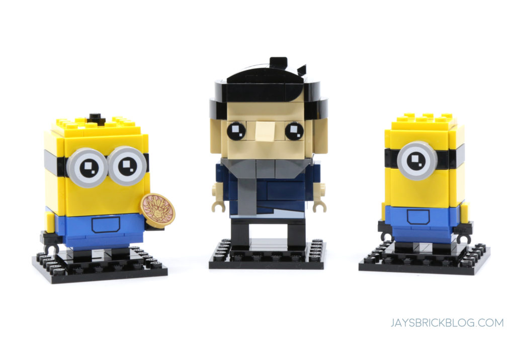 LEGO Minions 40420 Gru Stuart and Otto