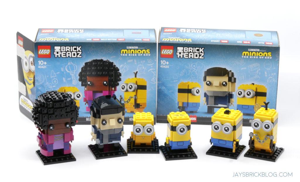 LEGO Minions Brickheadz 2021 Rise of Gru