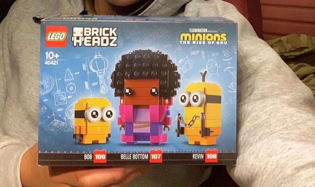 LEGO Minions Brickheadz 40421 Bob Belle Bottom Kevin Early Reveal