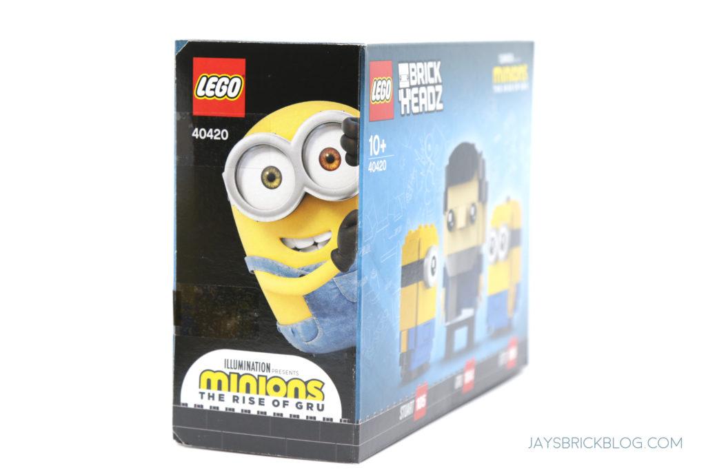 LEGO Minions Brickheadz Box